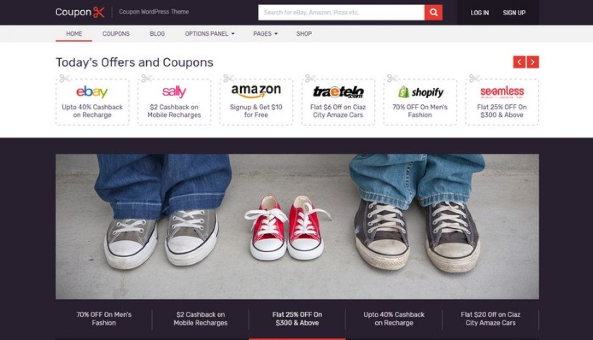 Coupon – An Income Generating WordPress Theme by MyThemeShop