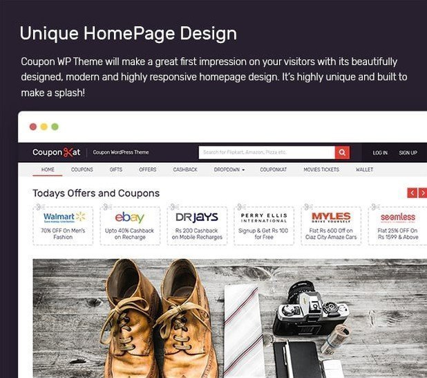 Coupon - An Income Generating WordPress Theme by MyThemeShop