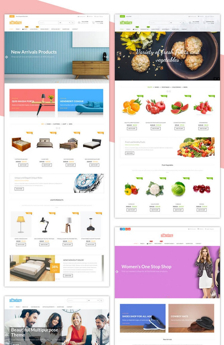 Wp Store Pro: An Advanced WordPress eCommerce Theme by 8degree Themes