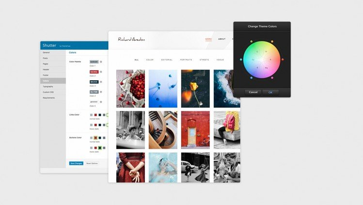 Shutter: A Versatile & Stylish WordPress Photography Theme