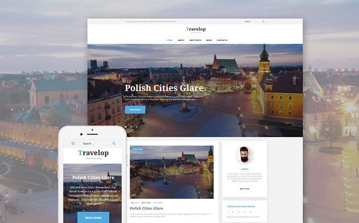Travelop - Traveler WordPress Theme