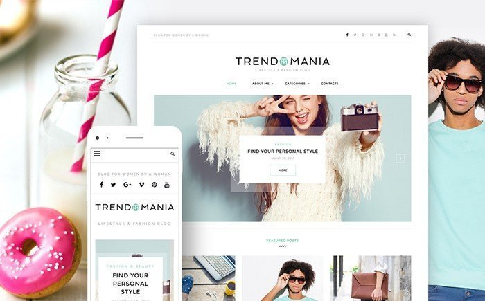 Trendomania - Style Blog WordPress Theme