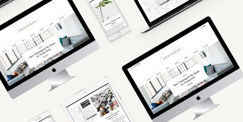 Analogue: A Minimalist WordPress Theme Crafted for Influencers