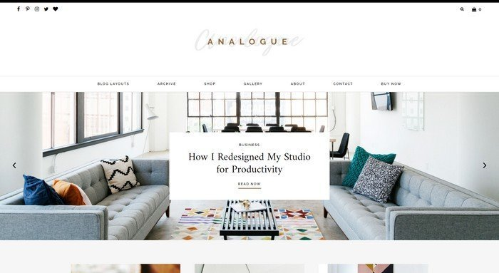 Analogue WordPress Theme