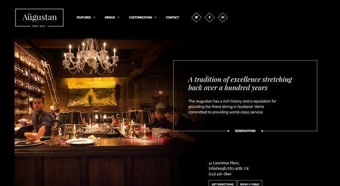Augustan WordPress Theme