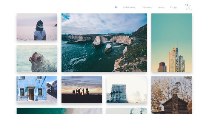 Glaciar WordPress Theme