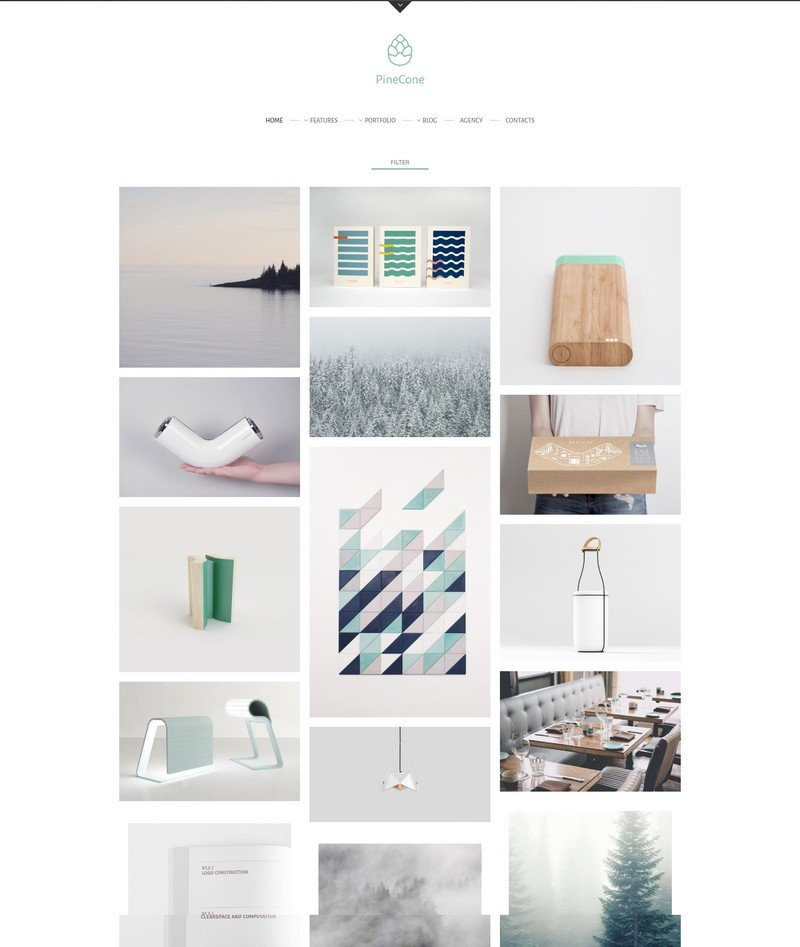 PineCone - A Creative WordPress Portfolio and Blog Theme