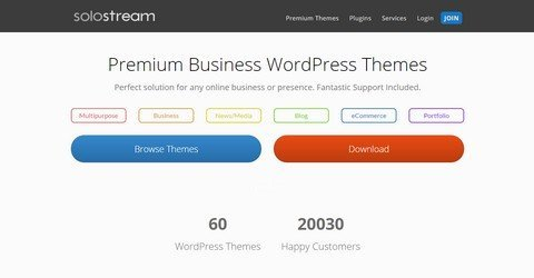 SoloStream WordPress Themes