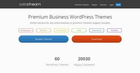 SoloStream WordPress Themes