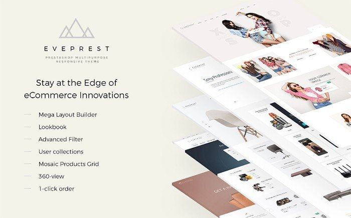 Everprest – Multifunctional PrestaShop Template