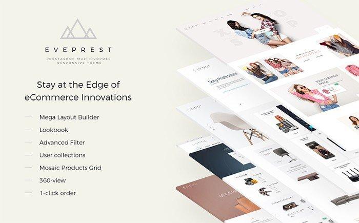 Everprest – Multifunctional PrestaShop Template