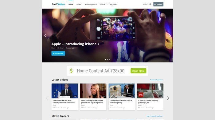 FastVideo WordPress Theme