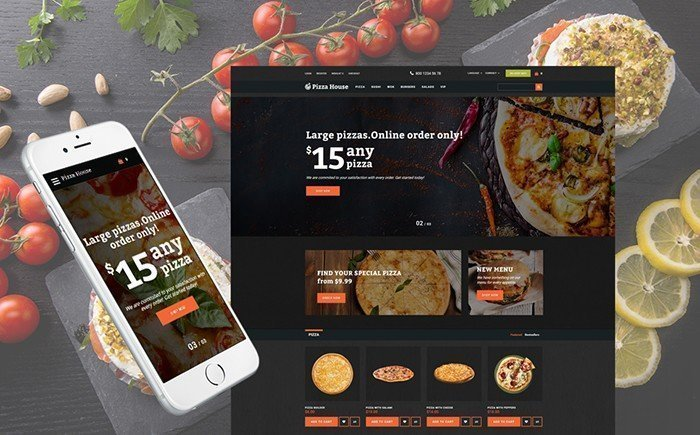 Fooder – Pizza Restaurant and Delivery OpenCart Template
