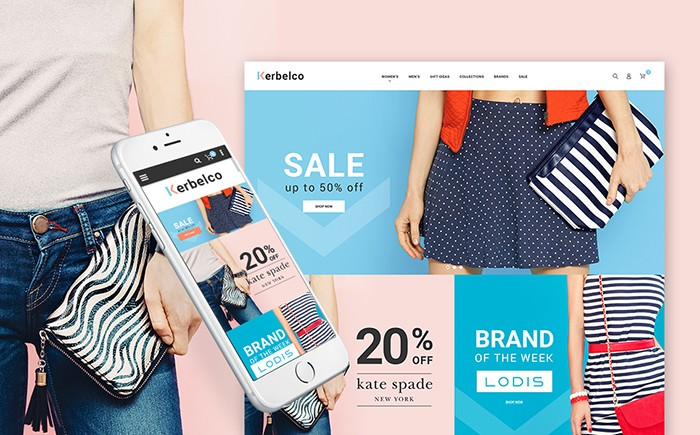 Kerbelco – Fashion and Handbags Magento 2 Template