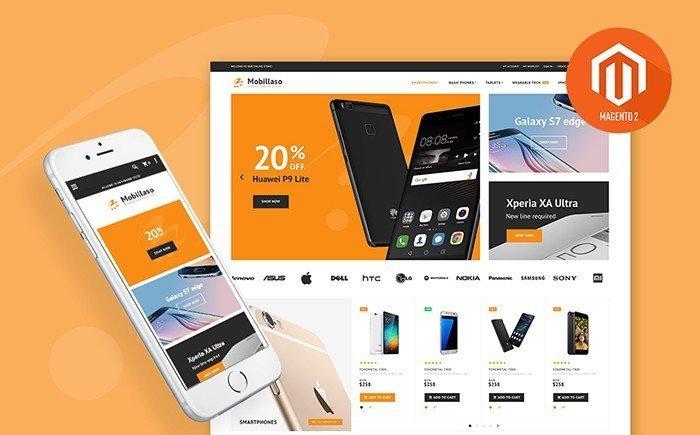 Mobilasso – Mobile Store Responsive Magento Template