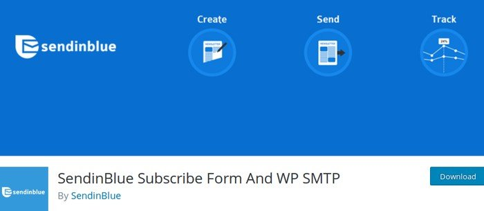 SendinBlue's official plugin for WordPress is a powerful all-in-one email marketing plugin.