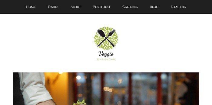 Veggie WordPress Theme