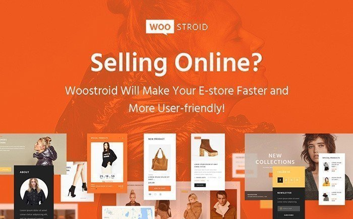 WooStroid – Multifunctional WooCommerce Template