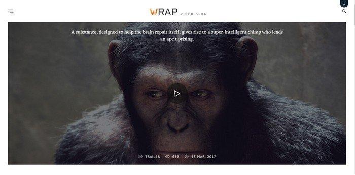 Wrap WordPress Theme