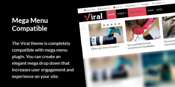 Viral - Powerful WordPress Theme For Social Media Marketers