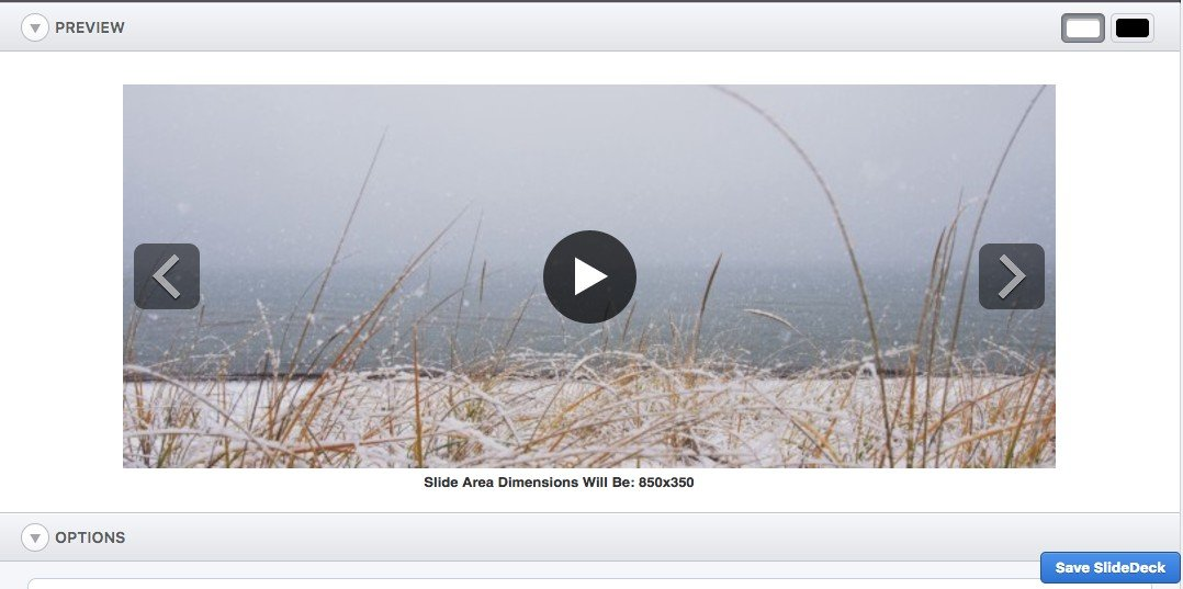 Front-end View YouTube Slider