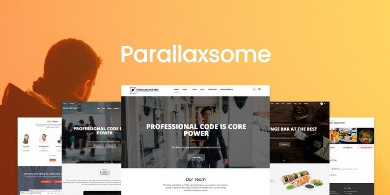 ParallaxSome Pro WordPress Theme