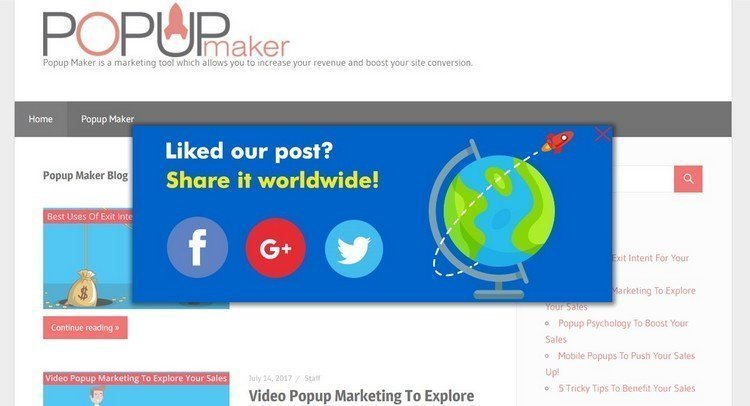 Share your content worldwide