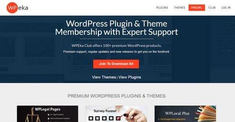 WPEka WordPress Themes & Plugins