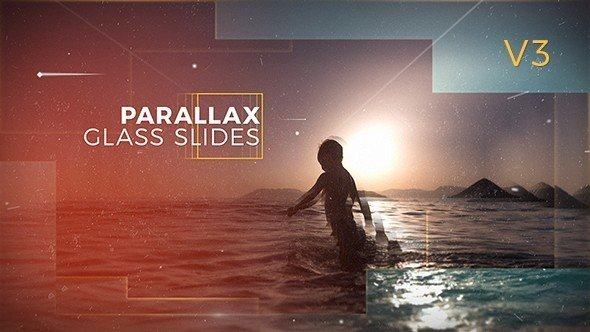 From VideoHive you can download Parallax glass slides.