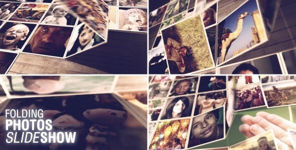 Use Folding Photos Slideshow for stylish gallery projects.