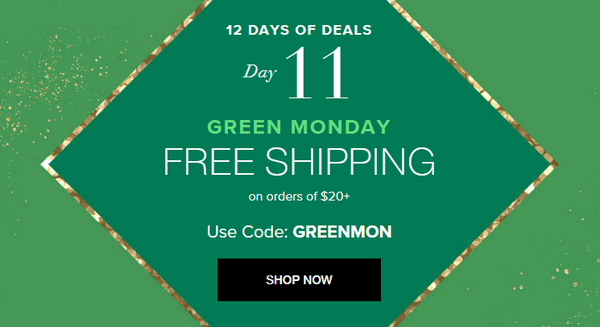 Offer Free Shipping on Bigger Purchases.