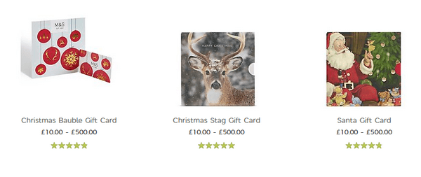 Offer Your Customers Gift Cards for Different Purposes.