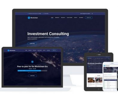 Blockchain WordPress Theme