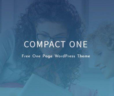 Compact One WordPress Theme