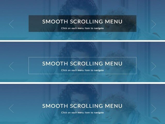 The smooth scrolling menu can be easily perused without any kind of disturbances..