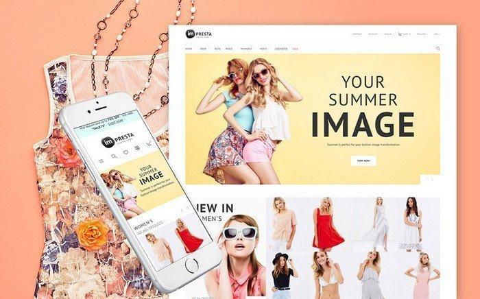 Impresta – Colorful and Powerful Fashion PrestaShop Theme