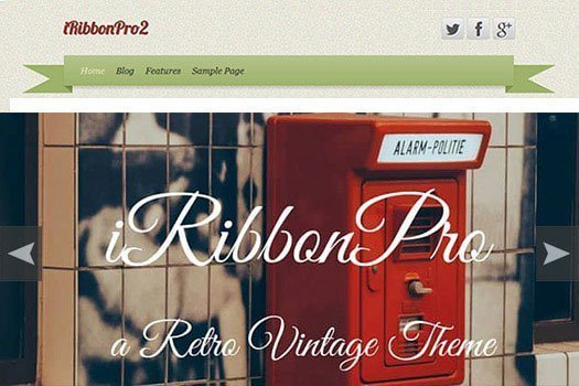 iRibbon Pro 2 WordPress Theme