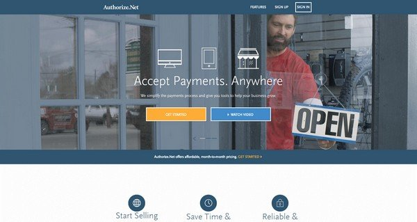 Authorize.net features like supporting one-time, recurring payments etc.