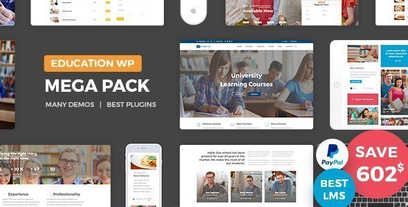 Education Pack is a great platform for any learning business to create a website for education.