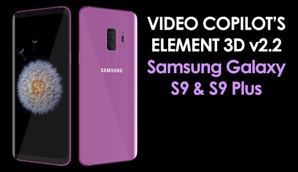 Element 3D Samsung Galaxy S9 and S9 Plus