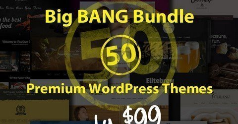 50 Premium WordPress Themes from 7Theme
