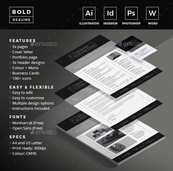 With this modern and professional resume template, you can really stand out.
