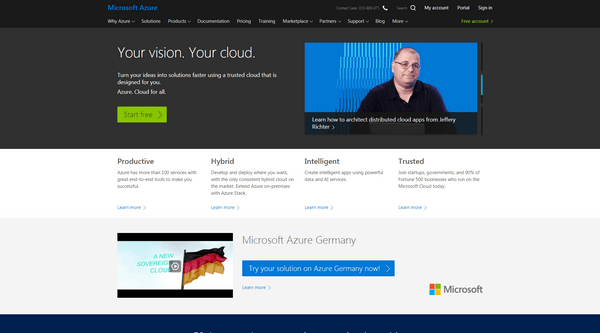 The organization has adopted the cloud as a full-on-demand service-Azure.
