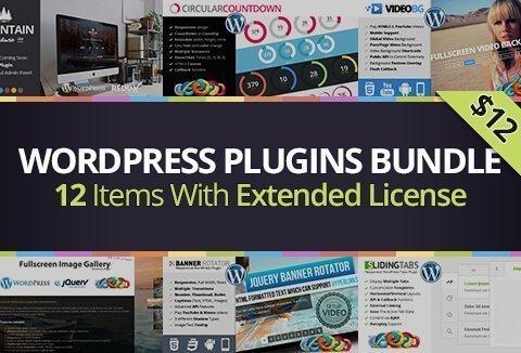 Get 12 WordPress Plugins 2018 from CodeGrape