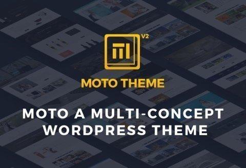 Moto Theme - One of the Best Marketing WordPress Theme