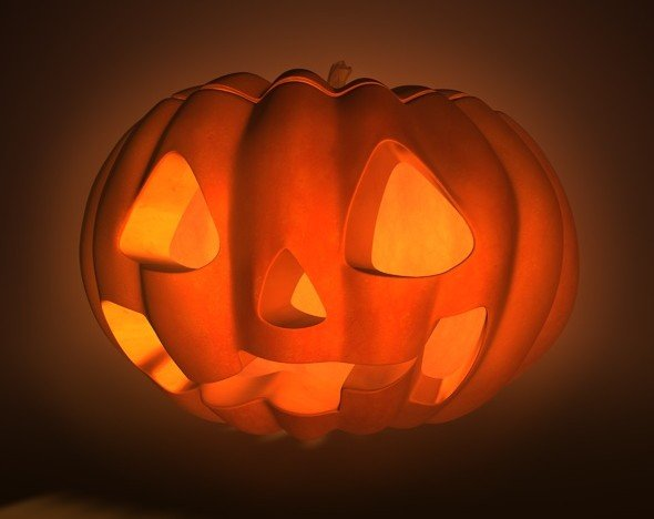 Halloween Pumpkin is a 3d model