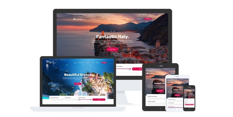 Cousteau Pro - A Travel WordPress Theme from CSSIgniter
