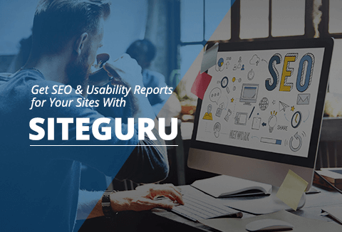 With SiteGuru you can find out common SEO issues, Usability Quirks, Technical Issues, etc.