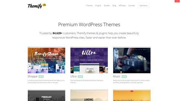 With Themify themes & plugins you can create great WordPress sites.