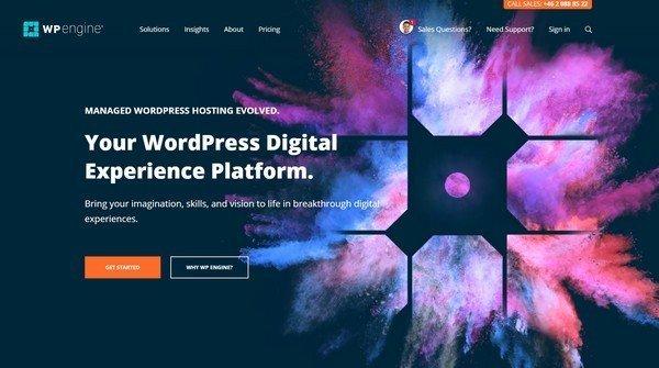 WPEngine - offer managed WordPress hosting.